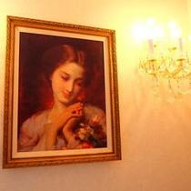 各客室の絵画
