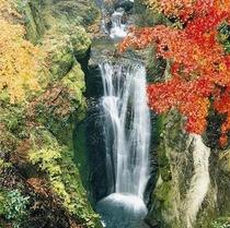 地蔵堂の滝(白糸の滝)