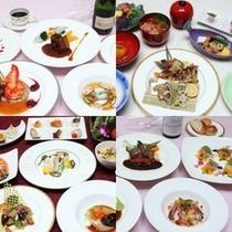 【THE DINING 暖琉満菜】コース料理一例