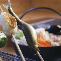 【夕食一例】いろり料理