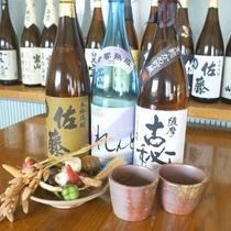 焼酎や地酒、梅酒なども各種ございます