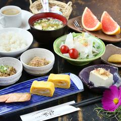 ◆一泊朝食付き◆採れたて元気野菜で一日の活力を!【俵山トンネル開通】