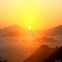 天空の城 竹田城跡(日の出)