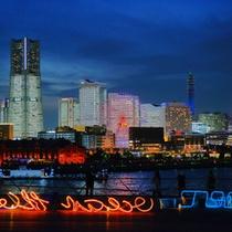 【周辺観光 みなとみらい夜景】横浜の絶景。東急東横線みなとみらい駅まで電車で2分