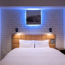 全室Wi-Fi完備!SOHOダブル※お部屋によりデザインやレイアウトが異なる場合がございます。