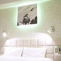 SOHOダブル※お部屋によりデザインやレイアウトが異なる場合がございます。