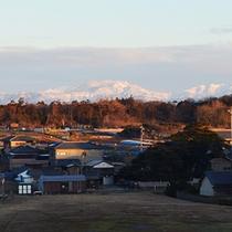 美しい白山連峰