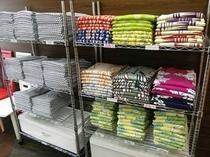 選べる色浴衣の数々