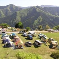 自然満喫解放区。キャンプ場。予約不要でご利用いただけます。