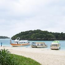 *周辺(川平湾グラスボート)/グラスボートで自然に囲まれた川平湾を周遊できます!