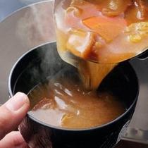 仙台味噌の具だくさん味噌汁