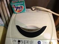 洗濯機と洗剤(無料)