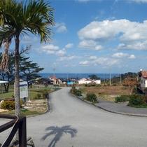 *「美ら宿屋」敷地内/半島の高台にあり、周りを美しい海に囲まれたロケーション☆
