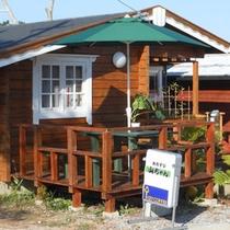 *喫茶店「山ちゃん」/敷地内にあるティーショップ。おむすびのご用意もあります♪