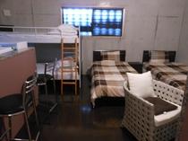 104号棟-「ひろA」 ベッドルーム(1フロアー)