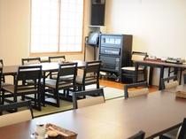 【食堂】明るい雰囲気の食堂です