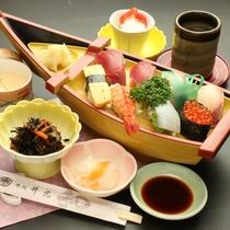 【寿司定食】ビジネスプランBでお選びいただけます。