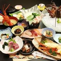 【伊勢海老】新鮮伊勢海老コース。種子島近海で獲れた新鮮な伊勢海老料理をご堪能下さいませ!
