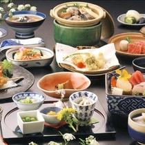 和会席料理の一例。(*^_^*)楽天500