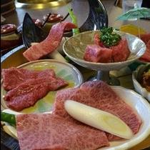 国産牛。すき焼き、しゃぶしゃぶ、石焼、の三種類がございます。!(^^)!楽天500