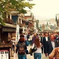 おかげ横丁の街並み。きっと欲しかったものが見つかるよ!(*^。^*)楽天500
