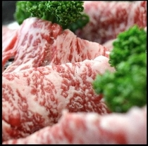 松阪牛すき焼き肉。プランや内容によって量が変わります。楽天500