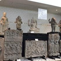 松阪サンテ美術館。アンコールワットのレリーフ約900年前の物。是非見学に来て下さい。楽天500