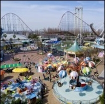 鈴鹿サーキット遊園地。子どもの聖地だね。遊びに来てね!!(^^)!楽天500