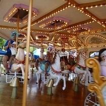 鈴鹿サーキット遊園地 定番のメリーゴーランド!美しい!