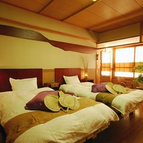 部屋アジアンツイン。東南アジア風にデザインされています。(*^^)v楽天500