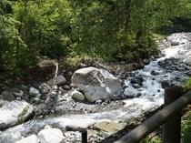 小黒川渓谷