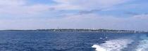 定期連絡船から見たへぐら島
