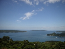 御番所公園から見える島々
