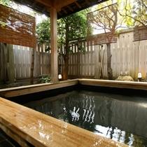 大浴場白山併設の露天風呂