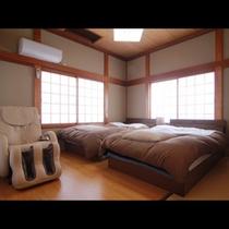 長寿庵 和洋室 寝室