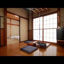 和室『更科』いろりの付いた、風情のあるお部屋