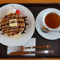 *【おやつの時間に】パンケーキセット