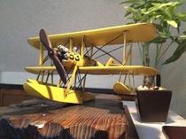 ブリキの飛行機