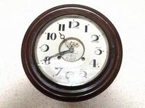 80年前の機械式時計♪