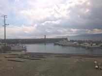 湯河原の小さな港。福浦漁港