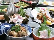 【クエフルコース】一例。高級魚クエをたっぷり食べつくす
