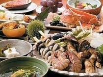 松茸・海老・さざえの炭火焼】松茸の香りがたまらない〜