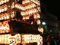 【粉河祭り】夜は遅くまで大賑わい