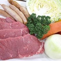 *【あおぞらカフェ】BBQ/ボリュームのあるお肉。