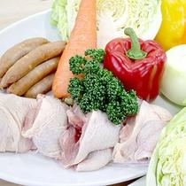 *【あおぞらカフェ】BBQ/お野菜もたっぷり。