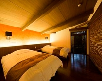 アイランドビューヴィラ寝室