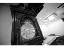 ノストラジックな雰囲気漂う柱時計