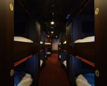 個室型ベッドルーム