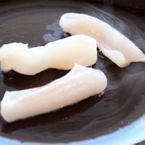 *岬御膳タコしゃぶコース/特産の前浜産のタコを、新鮮なまま豪快に焼いて食感をお楽しみください♪