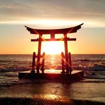 *金毘羅神社/この景色を見れたら良い事ありそう!神秘的な風景に心洗われます。